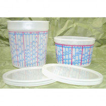 Disposable Pint Mixing Cup Lids 100/case