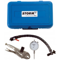 Storm brand imported dial indicator set with flex arm and locking pliers