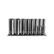 8-Piece 1/4 in. Drive 6-Point Fractional SAE Deep Socket Set
