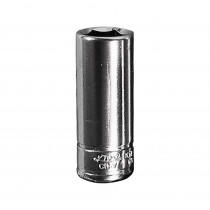 "7/16"" x 1/4"" Drive 6-Point Fractional Deep Chrome Socket (EA)"