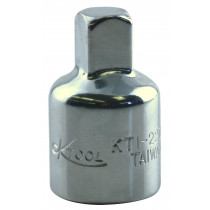 1/2 in. Female to 3/8 in. Male Socket Reducer Adapter