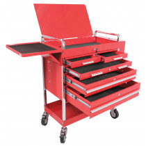 Professional Duty 5 Drawer Service Cart