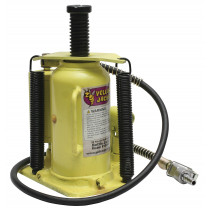 Esco Yellow Jackit 20-Ton Air/Manual Bottle Jack (Welded Base)