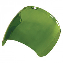 SAS Safety® Replacement Shield (Only) for Deluxe Face Shield 5147, Green (Shield Only)