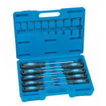 18 Pc. Tamper-Proof Star Screwdriver & Key Set