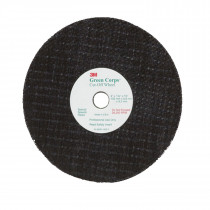 "3M™ Green Corps™ Cut-off Wheel, 3"" x 1/32"" x 3/8"", 5/Pack"