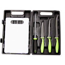 Sarge® Fishing Knife 5-Piece Kit in Blow Mold Case