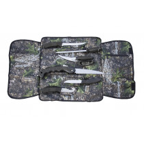 Sarge® Soft Roll Camo Hunting Knife & Tool 6-Piece Kit