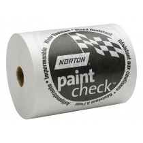 "6"" x 750' - White Polycoated Paint Check Paper"