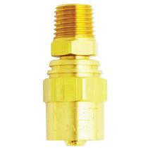 Male End Reusable Brass Hose Fitting