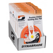 Dynabrade® 6 in. Sanding Pad Counter Display (Non-Vacuum)