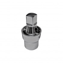 VIM Tools 3/8 in. Smooth 45 Degree U-Joint Socket Adapter 1/4 in. Square Drive