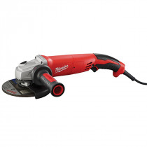 Milwaukee® 13-Amp 5 in. Small Angle Grinder Trigger Grip, Lock-On