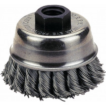 """Knotted Type Wire Cup Brush, 3"""" Diameter"""