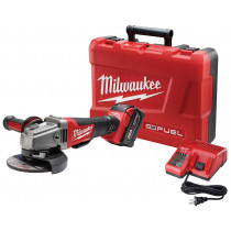 Milwaukee® M18™ FUEL™ 4.5 - 5 in. Grinder with Paddle Switch w/ (1) REDLITHIUM™ XC5.0 Battery Kit