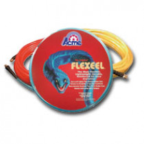 Blue Flexeel Reinforced Polyurethane Straight Air Hose 3/8 in. x 35 in., 1/4 in. MPT