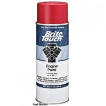 Brite Touch  Engine Paint Ford Red 10 oz. Aerosol