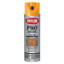 Marking Paint, Fluorescent Orange Water Based Contractor's Paint Aerosol Can
