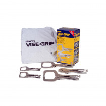 Vise-Grip® 5-Piece Welding Clamp Kit with T-Shirt
