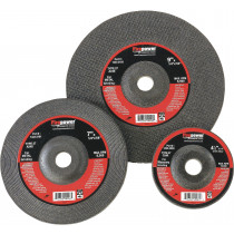 "4"" x 1/4"" x 5/8"" Type 27 Depressed Center Grinding WHeel, 5 per Pack"