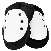 SAS Safety® Deluxe Plastic Cap Knee Pads with Velcro Closures, Water and Abrasion Resistant