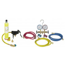 R134A/R12 Manifold and UV Combo Kit