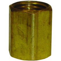 """5/16"""" Inverted Tube Union Brass Fitting"""