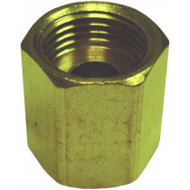 """3/8"""" Inverted Tube Union Brass Fitting"""