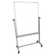 Luxor Double-Sided Magnetic Whitebaord, Dry Erase Board, 36 x 48 in.