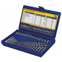 35 Piece Screw Extractor and Drill Bit Set