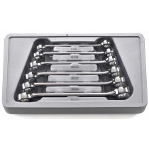 6-Piece Metric Flare Nut Wrench Set