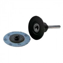 """Quick-Change Back-Up Pad 3 X 1/4"""" Rubber"""