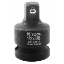 1/2 in. Female x 3/8 in. Male Impact Socket Reducer and Adapter (EA)