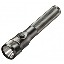 Stinger LED Rechargeable Flashlight with AC/DC Charge Cords and Charger Holders