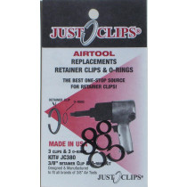 """3/8"""" Anvil Retainer Clip and O-Ring Kit, 12 Pack"""
