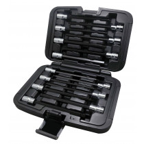 VIM Tools 14-Piece Extra Long Metric Hex and Ball Hex Driver Set