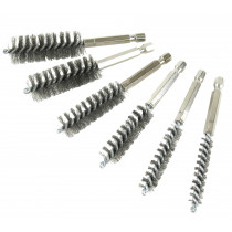Twisted Wire Bore Brush Set (Stainless Steel)