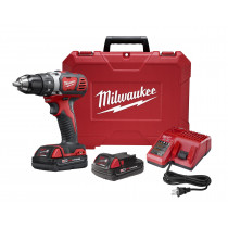 """M18 Compact 1/2"""" Drill Driver w/ (2) Batteries Kit"""