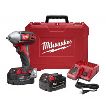 Milwaukee® M18™ 3/8 in. Drive Impact Wrench w/ (2) Batteries Kit