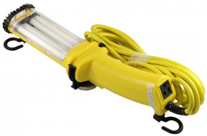 26W Fluorescent Angle Work Light with 25' Cord