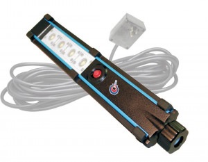 4 LED Hemitech Light with 25 ft. 18/2 SJOW Cable